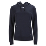 Under Armour Women's Team Rival Fleece Hoody (Black)