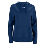 Under Armour Women's Team Rival Fleece Hoody (Navy)
