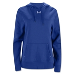 Under Armour Women's Team Rival Fleece Hoody (Royal Blue)