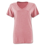 Under Armour Women's Stadium V-Neck T-Shirt (Pink)
