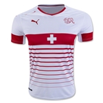 Switzerland 2016 Away Soccer Jersey