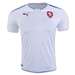Czech Republic 2016 Away Soccer Jersey