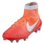 Nike Women's Magista Obra FG (Bright Crimson/University Red)