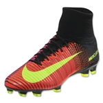 Nike Mercurial Superfly V FG (Total Crimson/Black)