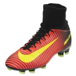 Nike Mercurial Superfly V FG Junior (Total Crimson/Black)