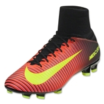 Nike Mercurial Veloce III DF FG (Total Crimson/Black)