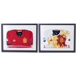 adidas Spain Euro 2016 Collector's Edition Jersey