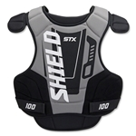 STX Shield 100 Goalie Chest Protector (Black)