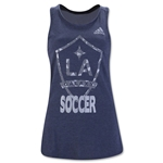 LA Galaxy Women's Logo Tank Top