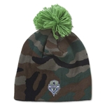 Seattle Sounders Knit Pom Beanie