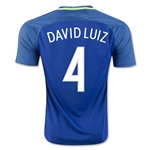 Brazil 2016 DAVID LUIZ Away Soccer Jersey