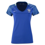 Brazil 2016 Women's Away Soccer Jersey