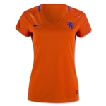 Netherlands 2016 Women's Home Soccer Jersey