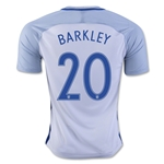 England 2016 BARKLEY Home Soccer Jersey
