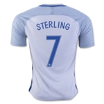 England 2016 STERLING Home Soccer Jersey