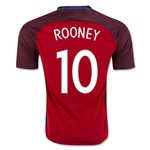 England 2016 ROONEY Away Soccer Jersey