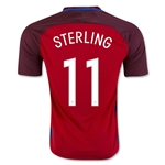 England 2016 STERLING Away Soccer Jersey