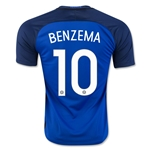France 2016 BENZEMA Home Soccer Jersey
