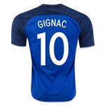 France 2016 GIGNAC Home Soccer Jersey