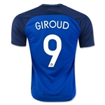France 2016 GIROUD Home Soccer Jersey