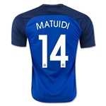 France 2016 MATUIDI Home Soccer Jersey