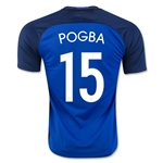 France 2016 POGBA Home Soccer Jersey