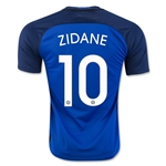 France 2016 ZIDANE Home Soccer Jersey