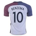 France 2016 BENZEMA Away Soccer Jersey