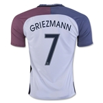 France 2016 GRIEZMANN Away Soccer Jersey
