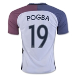 France 2016 POGBA Away Soccer Jersey
