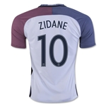 France 2016 ZIDANE Away Soccer Jersey