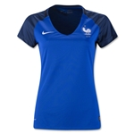 France 2016 Women's Home Soccer Jersey