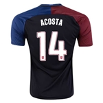 USA 2016 ACOSTA Away Soccer Jersey