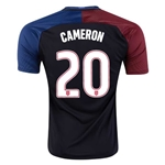 USA 2016 CAMERON Away Soccer Jersey