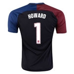 USA 2016 HOWARD Away Soccer Jersey