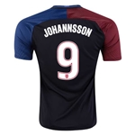 USA 2016 JOHANNSSON Away Soccer Jersey