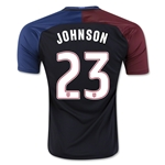 USA 2016 JOHNSON Away Soccer Jersey