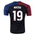 USA 2016 MIAZGA Away Soccer Jersey
