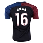 USA 2016 NGUYEN Away Soccer Jersey