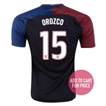 USA 2016 OROZCO Away Soccer Jersey