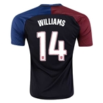USA 2016 WILLIAMS Away Soccer Jersey