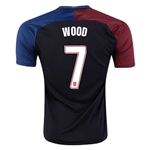 USA 2016 WOOD Away Soccer Jersey