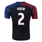 USA 2016 YEDLIN Away Soccer Jersey