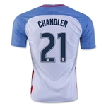 USA 2016 CHANDLER Home Soccer Jersey