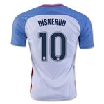 USA 2016 DISKERUD Home Soccer Jersey