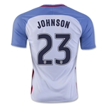 USA 2016 JOHNSON Home Soccer Jersey