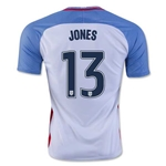 USA 2016 JONES Home Soccer Jersey