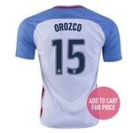 USA 2016 OROZCO Home Soccer Jersey