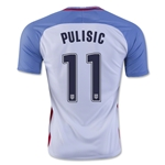 USA 2016 PULISIC Home Soccer Jersey