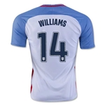 USA 2016 WILLIAMS Home Soccer Jersey